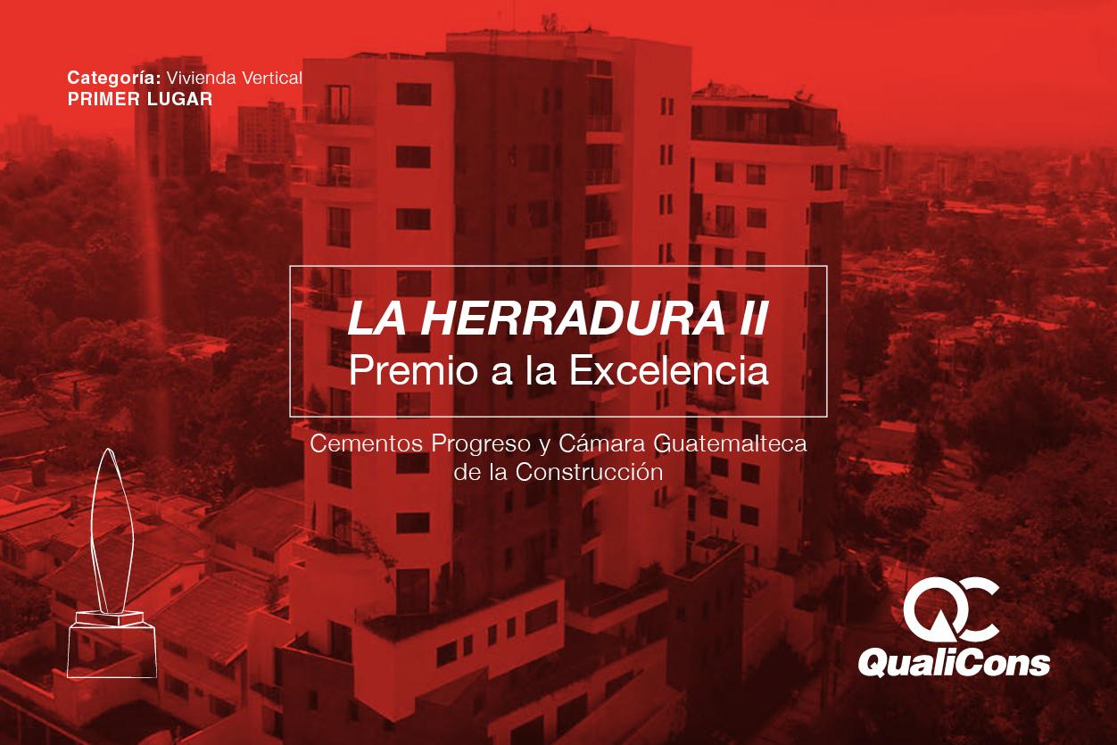 Premio a la Excelencia - Cementos Progreso y Cámara Guatemalteca de la Construcción.