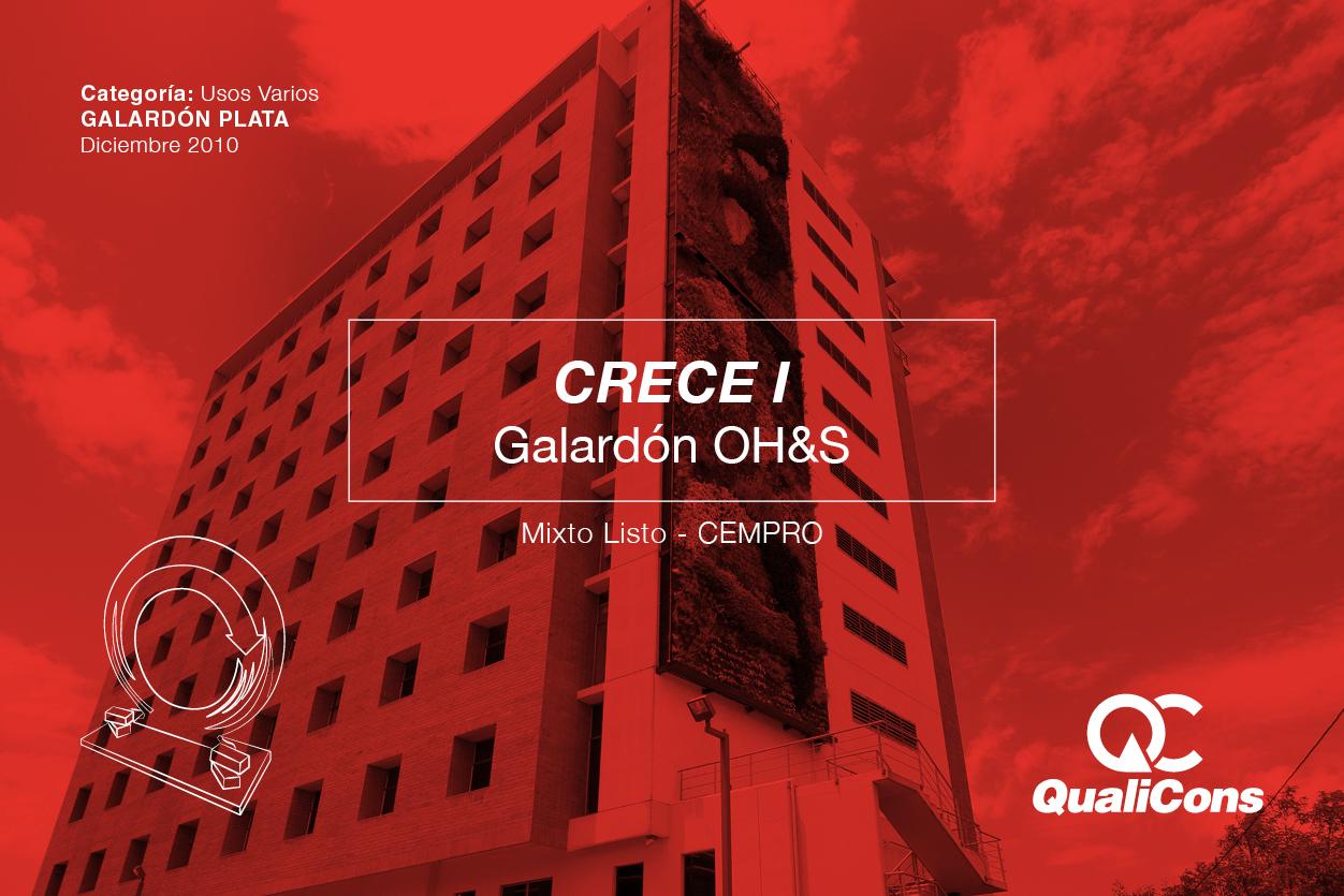 Galardón OH&S – Mixto Listo
